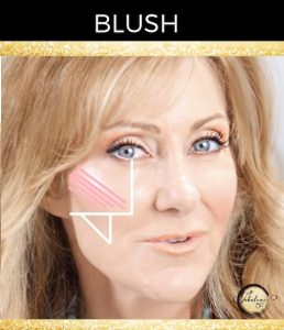 Contour   Blush   Highlight For Mature Cheeks Over 50!