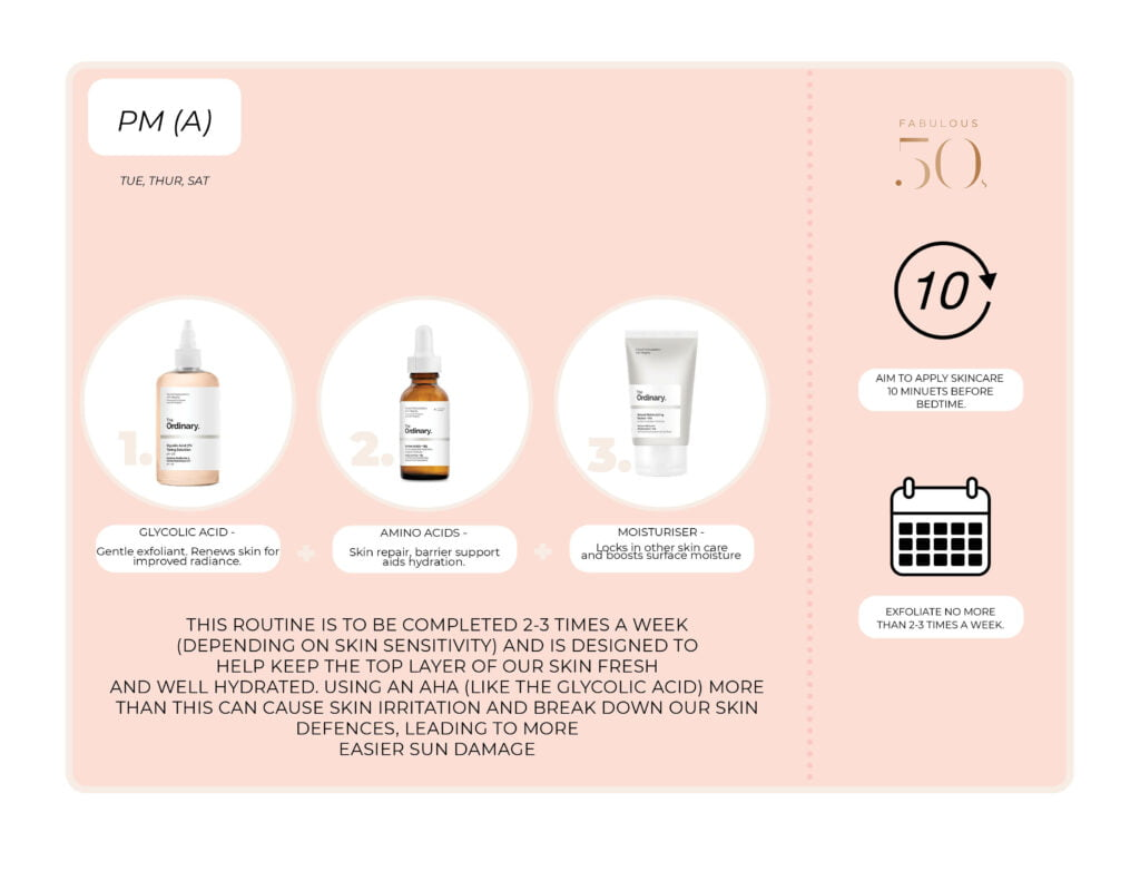 Anti-ageing skincare routine for mature skin
