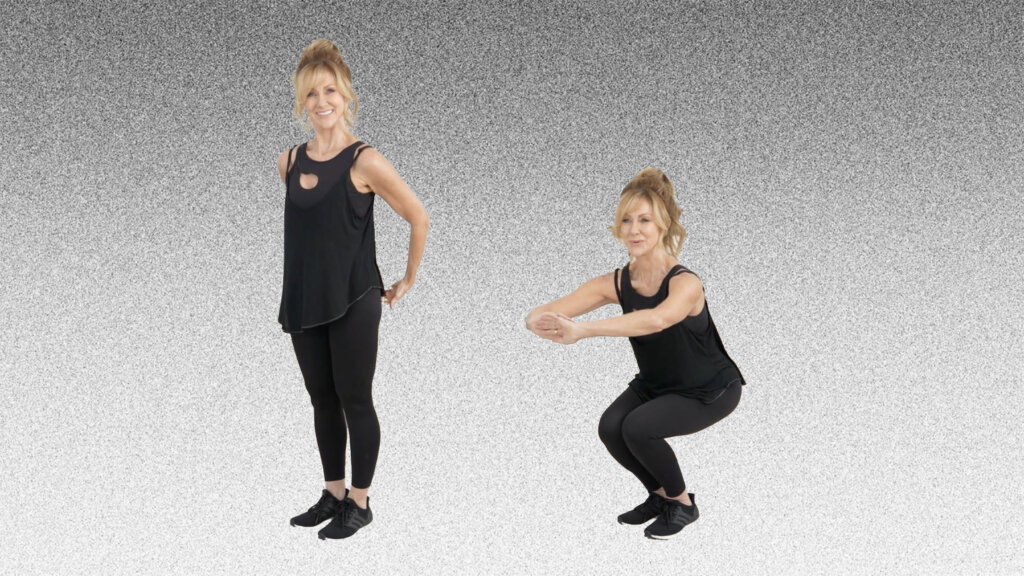 10 Minute Toned Leg Workout For Women Over 50